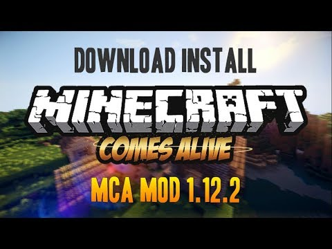 MINECRAFT COMES ALIVE MOD 1.12.2 minecraft - how to download and install MCA 1.12.2 (with forge)