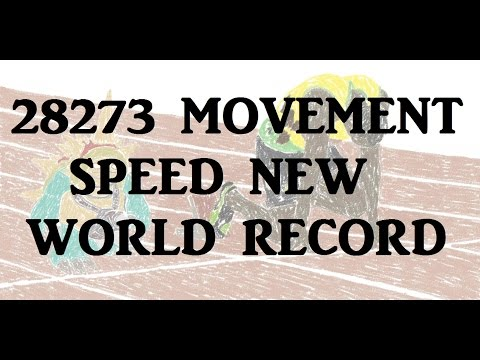 28273MS New World Record Movement Speed - League of Legends