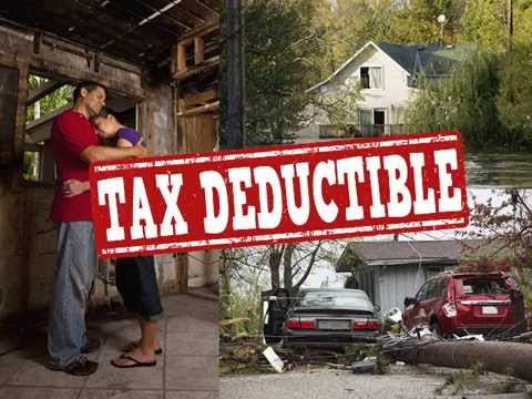 Income Tax Deductions for Property Loss