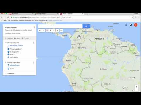 Google My Maps Tutorial 2016