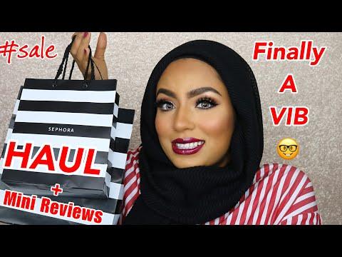 SEPHORA SALE HAUL April 2018 + Mini Reviews on Skincare & Makeup I Got!