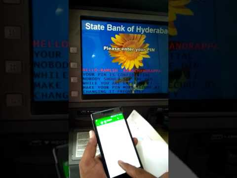 HOW TO GENERATE NEW ATM PIN FOR STATE BANK OF INDIA BANK ACCOUNT HOLDERS FOR NEW ATM AND FORGOT PIN,