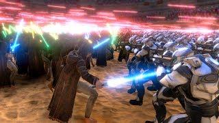 JEDI CLONE WAR!!!   Ultimate Epic Battle Simulator HD