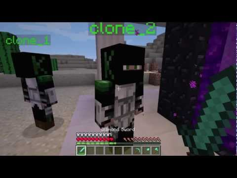 MINECRAFT- Clone Yourself Glitch!