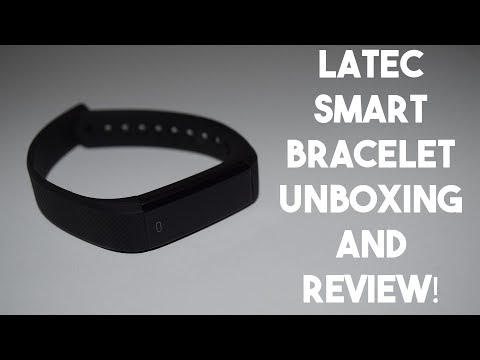 Latec Sports Smart Band Unboxing and Review!