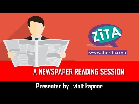 Live Newspaper Reading Session |The Hindu Newspaper Reading Session|Newspaper Vocab |By Vinit Kapoor