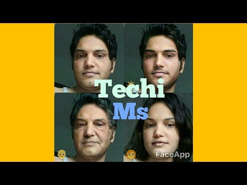 face changing app gender,age,emotion app faceapp !! Techi ms