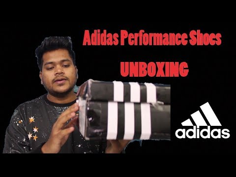 Unboxing: Adidas Performance Shoes In Cheap | HINDI |  INDIA
