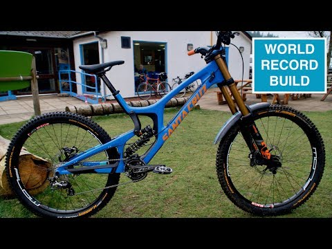 NEW BIKE // Santacruz V10 - World Record Build