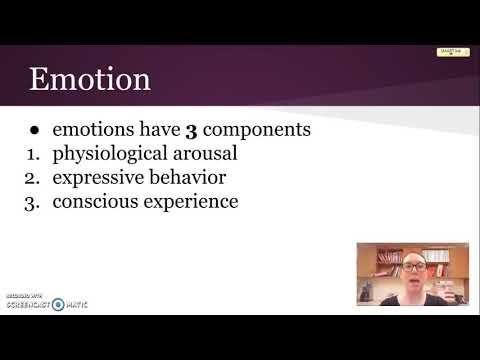 Emotion: definition