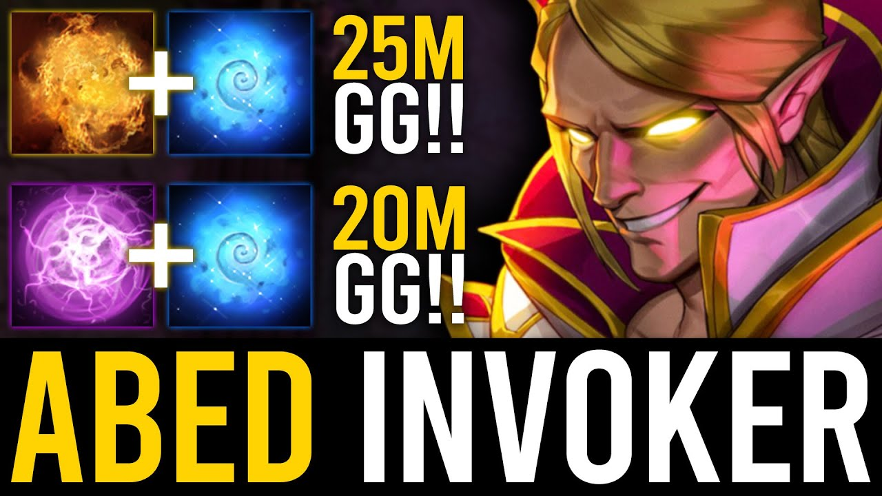 THIS IS HOW ABED INVOKER DOMINATES THE GAME | Dota 2 Invoker