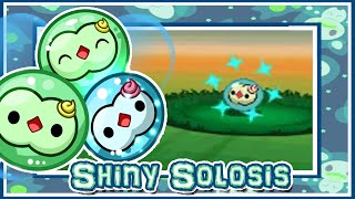 LIVE!! Shiny Solosis on Pokemon White 2 after 17014 REs!!