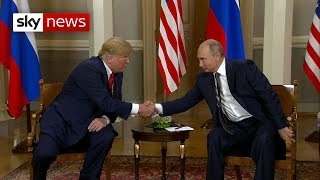 """Breaking: Trump predicts """"extraordinary relationship"""" with Russia"""
