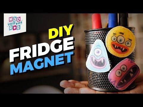 How to make a DIY Fridge Magnet