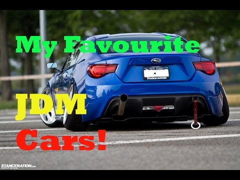 My Favourite JDM cars!
