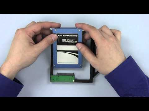 13-inch MacBook Late 2009 & 2010 Data Doubler 2nd Hard Drive/SSD Installation Video