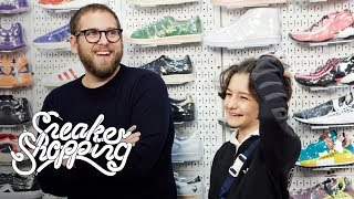 Download Jonah Hill And Sunny Suljic Go Sneaker Shopping With Complex Video