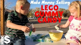 Kids Make Money With LEGO Gummy Candy