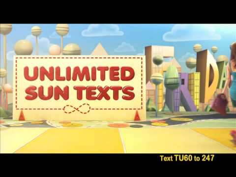 Enjoy your week with Sun Prepaid Text Unlimited 60