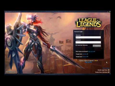 Custom Login Screen - League of Legends