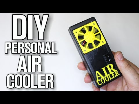 How To Make Personal AIR Cooler - DIY AIR Conditioner
