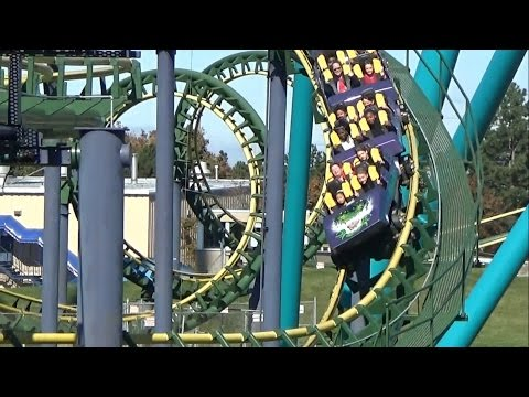 Dragon Fire Off Ride Footage HD 1080p Canada's Wonderland