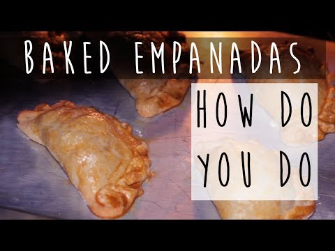 How to Make Baked Empanadas || Pinoy Style with Beef