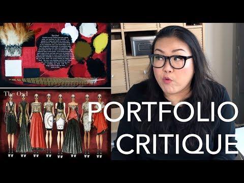 Critiquing A Viewer's Portfolio 2