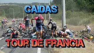 Caidas Ciclismo Tour de Francia 2015
