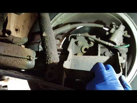 Renault Laguna rear spring replacement/removal. How to do it.