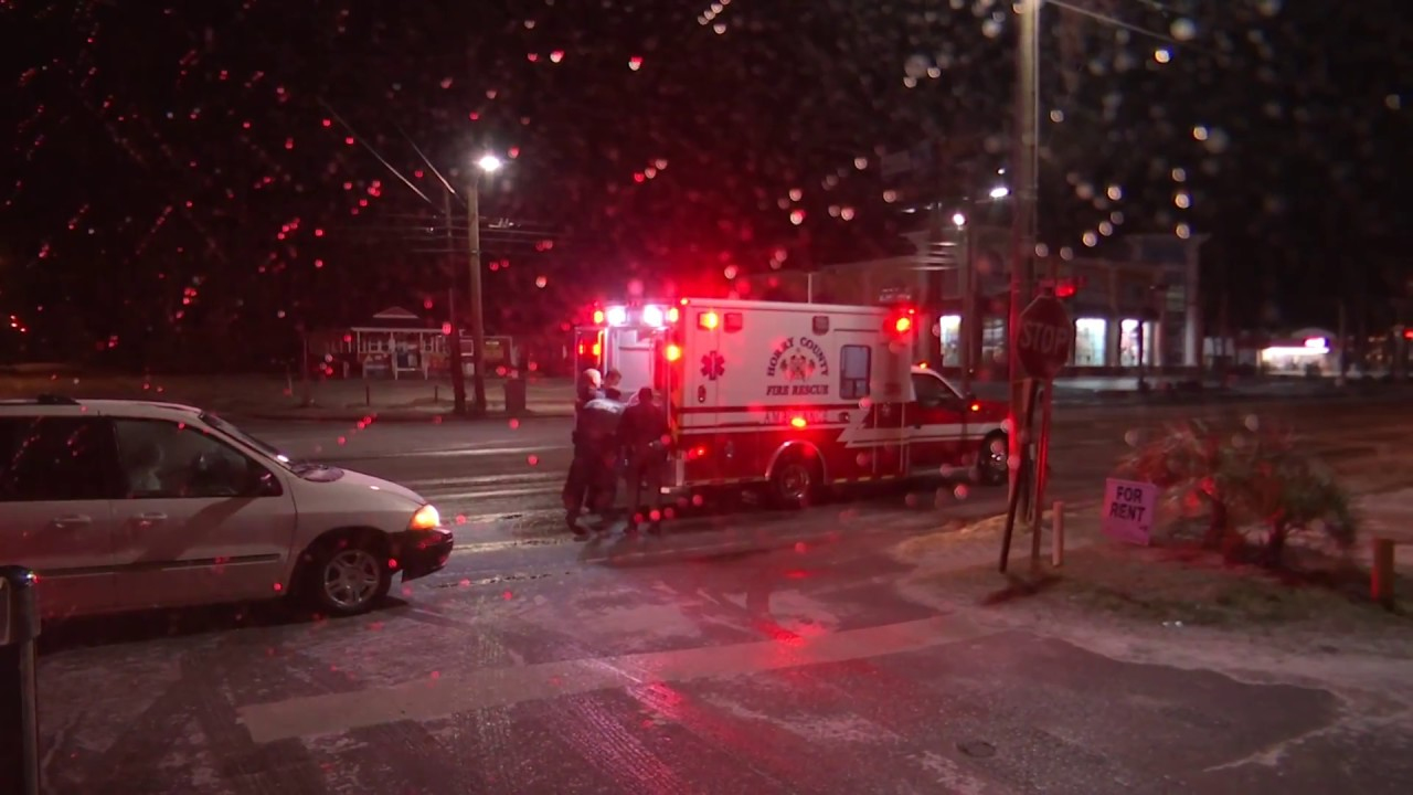 'Completely caught off guard,' mother gives birth in ambulance during winter storm