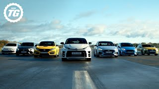 Quickfire Hot Hatch Buying Guide: GR Yaris, Civic Type R, AMG A45 S, Fiesta ST, Golf GTI | Top Gear