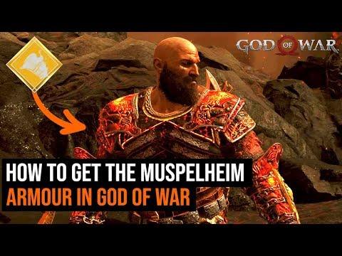 God of War: How To Get The Muspelheim Armour