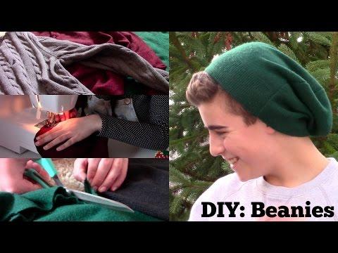 DIY Beanies | Using Old Sweaters!