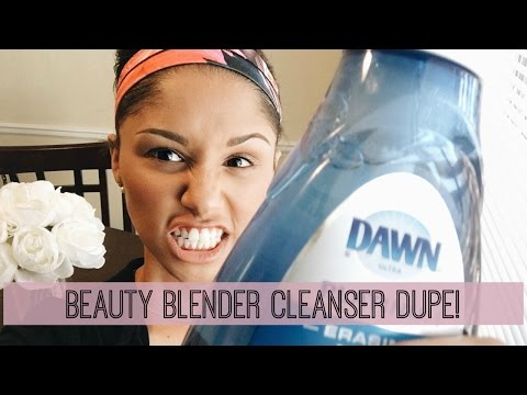 BEAUTY BLENDER CLEANSER DUPE!! | Dawn Erasing Dish Soap