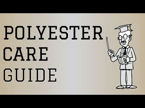 Fabric Care Guide : Polyester | How to care for Polyester Clothing