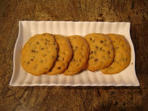 Chocolate Chip Cookies Soft & Chewy by Diane Lovetobake