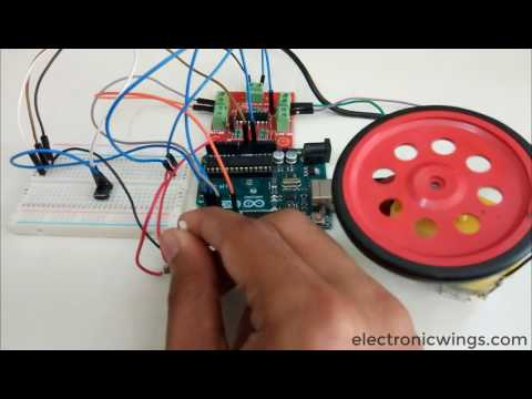 Speed and Diretion Control of DC motor Using Arduino