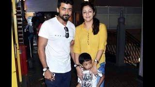 surya Jyothika family Latest Video , Daughter Diya,Son Dev | surya family
