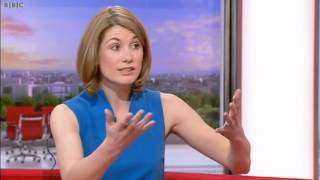 Jodie Whittaker on accents and her difficult role in Broadchurch