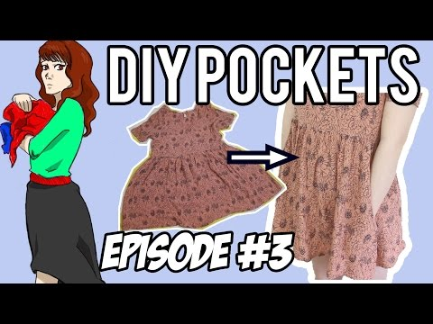 How To Add Pockets To Anything! | The Style Pile Episode #3
