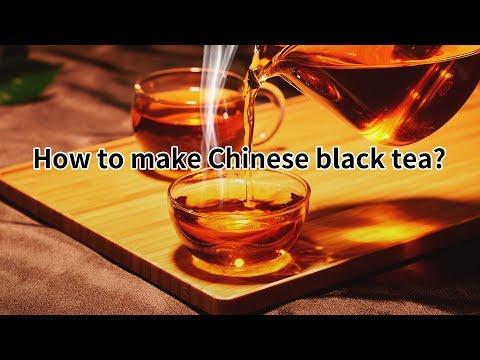 How to make chinese black tea?(http://www.tea-tao.com)