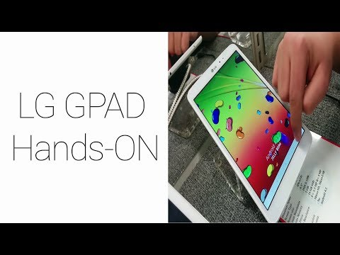LG GPad 8.3 Hands-ON (2014)