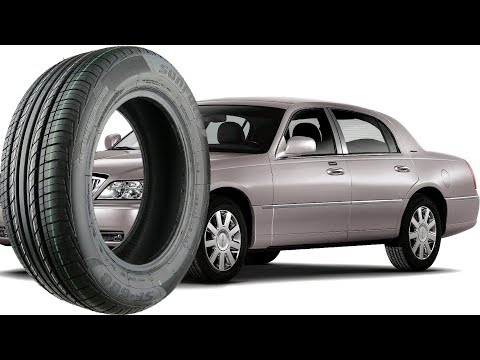 Stock Tire Size for all LINCOLN TOWN CAR 1998-2011