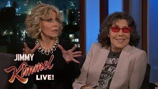 Lily Tomlin & Jane Fonda on