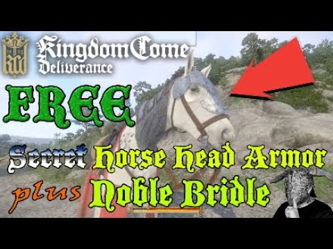 Kingdom Come Deliverance Secret Horse Head Armor FREE (PS4)