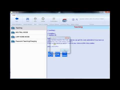 how Autohex Software calculates the pin code for Hyundai vehicle, then performs the key matching