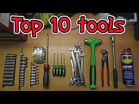 My Top 10 Most Used Tools!