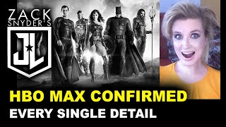 Snyder Cut HBO Max CONFIRMED - Reaction & Breakdown