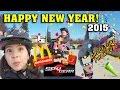 HAPPY NEW YEAR VLOG! McDonald's Spy Gear Happy Meals & DaddyTube Parkour!